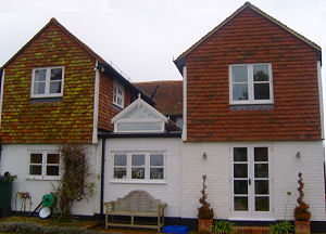 Two storey extension and refurbishment in Horsmonden near Tonbridge, Kent